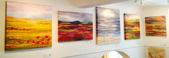 Judith Reece: 'A Passion for Colour' Exhibition at the Art Cafe, Whitby